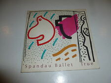 "SPANDAU BALLET - True - Original 1983 UK 2-track 7"" vinyl single (Flip Sleeve)"