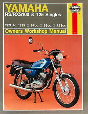 Haynes Manual 0331 - Yamaha RS100, RS125, RXS100 & RS125DX Singles (74 - 95)