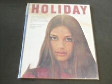 1967 SEPTEMBER HOLIDAY MAGAZINE - BRAZIL GREAT FRONT COVER & AWESOME ADS - K 983