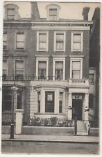 J & W Morley, Auctioneer & Estate Agent, Earls Court, London Postcard B768