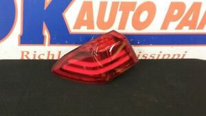 14 BMW 535I GT REAR LEFT DRIVER TAIL LIGHT TAIL LAMP ASSEMBLY