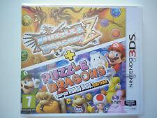 Puzzle & Dragons Z + Puzzle Dragons Super Mario Bros Jeu Vidéo Nintendo 3DS