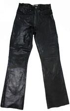 Markenlose Damenhosen Hosengröße 36 aus Leder
