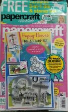 Papercraft Essentials UK Issue 141 3 in 1 Die Stamp Set Create FREE SHIPPING sb