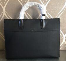 New Tumi Landon Bradmoor Pebbled Black Leather Briefcase Style 93804 MSRP $1800