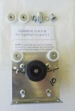 Light Rail 10 Rpm Gearbox Replacement Kit - bracket assembly spring drive wheel