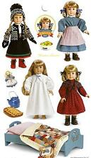 AMERICAN GIRL KIRSTEN STICKERS! FAVORS~EASTER BASKET FILLER~STOCKING STUFFER!