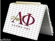 Laptop Notebook Skin Sticker Cover Decal Art ALPHA PHI Sorority Greek #S1050