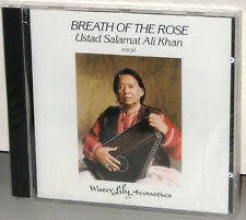 WATER LILY WLA-ES-18-CD: Breath Of The Rose - Ustad Ali Khan - OOP USA 1990s SS