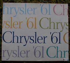 1961 Chrysler FL Brochure Newport New Yorker