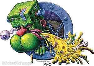 Frankenpuke Sticker Decal Artist XNO #3 Monster Art Frankenstein