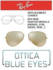 Lenti di Ricambio RAYBAN AVIATOR MODELS Replacement Lenses Ray Ban RB3025 3K