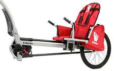 Weehoo Kids Turbo Bicycle Trailer, Red/Black, One Size - K1000