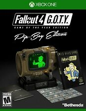 Fallout 4 - Xbox Un Jeu De L'Année Pip-Boy Édition [Action RPG à Collectionner]