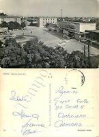 Cartolina di Faenza, stazione della ferrovia - Ravenna