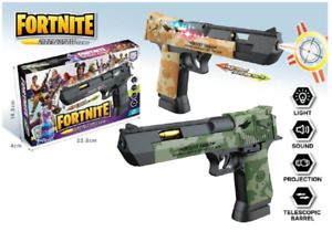 Fortnite/Police Gun Pistol With Lights and Sounds Kids Toy best Birthday gift