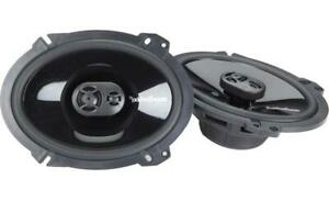 "Rockford Fosgate P1683 Punch Series 6x8"" 3-way car speakers"