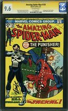 AMAZING SPIDER-MAN 129 CGC 9.6 (1st Punisher) SS STAN LEE