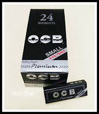 OCB Premium Small Rolling Papers With Filter tips Full Box (24x)