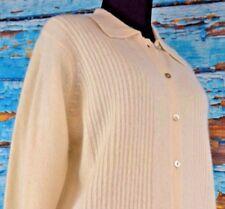 Jones Studio Women's Cardigan Sweater Size Medium NEW $98 Lambswool Rabbit Soft