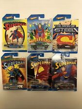 Hot Wheels 2013 Superman Set Kroger Exclusive Complete Set Of 6 Cars