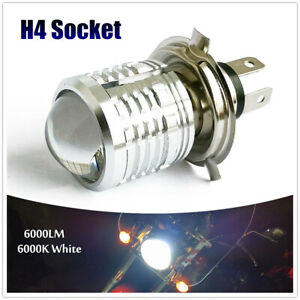 H4 9003 Motorcycle LED Headlight Bulbs 6000LM 6000K White Light Headlight Bulb