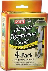 Kaytee Straight Finch Station Replacement Socks