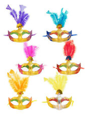 Maske Augenmaske Venezia Federn Karneval Fasching