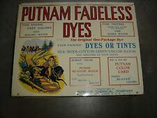Antique Country Store  Putnam Dye Store Display. 8867