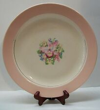 Pink Orchid Serving Plate Royal China National Brotherhood Operative Pottery