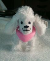 Hotel for Dogs Juliet white dog 3 inch nwt