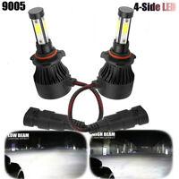 CREE 4-Sided LED Headlight Kit 9005 HB3 1820W 273000LM 6000K Hi Beam White Bulbs