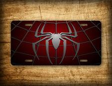 Spiderman License Plate Superhero Spider Web Auto Tag 6x12 Peter Parker Marvel