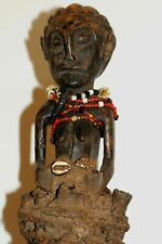 Rare antique female cult figure, DR Congo, Bandundu province, Boketi village