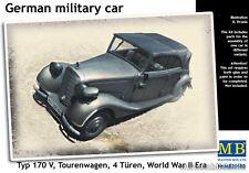 MASTER Box 1/35 Scala Tedesco Militare Typ 170 V tourenwagen 4 turen #35100