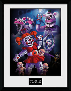FUNTIME POSTER FIVE NIGHTS AT FREDDY/'S SISTER LOCATION 22x34-15003