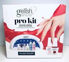 Gelish pro kit basix for perfect salon gel manicure w/ led light
