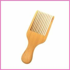 Wood Hair Pick Combs Massage Non Static Natural Wooden Home Hair Comb Supplies