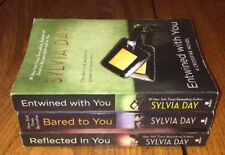 Lot 3 Crossfire Novel Series Sylvia Day Bared To You Reflected In Entwined With