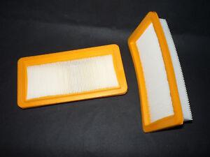 2 Motorschutzfilter passend f. Kärcher Wasserfilterstaubsauger DS Serie (LF 19)