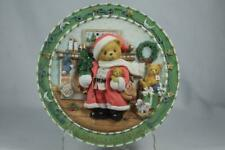 Cherished Teddies 'The Season To Believe' 1997 Sculpted Plate' #272183 Coa New
