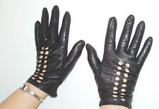 Leather 1960s Vintage Gloves
