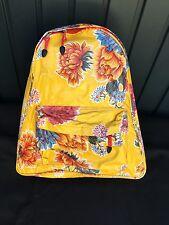 Kitsch Kitchen Rucksack Backpack Schultasche Wasserfest Wachstuch bunt crazy