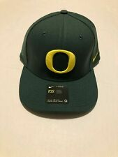Oregon Ducks Classic99 Nike Cap Forest Green Swoosh Flex Hat