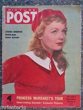 Picture Post  March 5, 1955 Etchika Choureau  VINTAGE ADS  Princess Margaret