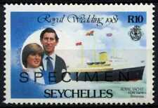 Seychelles 1981 SG#509, 10R Royal Wedding Optd Specimen MNH #D66985