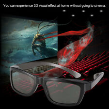 Passive 3D Glasses for Polarized TV Real D 3D Cinemas for Panasonic & More W9H7