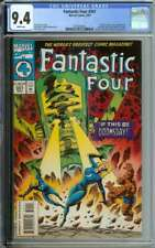 FANTASTIC FOUR #391 CGC 9.4 WHITE PAGES // GALACTUS + SILVER SURFER APPEARANCE