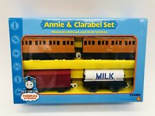 NEW Annie & Clarabel Set Thomas & Friends Trackmaster TOMY Freight Truck Tanker