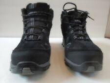 Hytest Safety Men's Footwear High Sneaker Size 8.5 Black with Steel Toe K12350